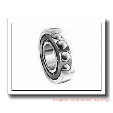 1 Inch | 25.4 Millimeter x 1.375 Inch | 34.925 Millimeter x 0.188 Inch | 4.775 Millimeter  RBC BEARINGS SAA10AG0  Angular Contact Ball Bearings